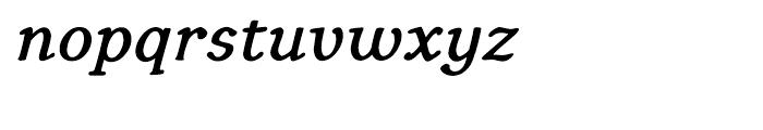 Youbee Bold Italic Font LOWERCASE