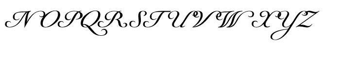 Youngblood Regular Font UPPERCASE