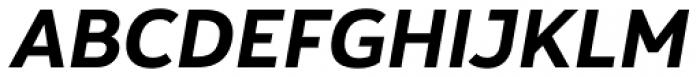 Yorkten Bold Italic Font UPPERCASE