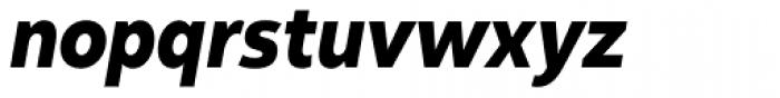 Yorkten Condensed Extra Bold Italic Font LOWERCASE