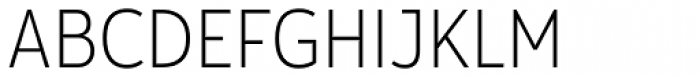 Yorkten Condensed Thin Font UPPERCASE