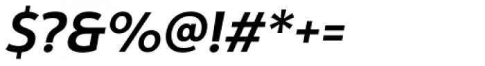Yorkten Demi Italic Font OTHER CHARS