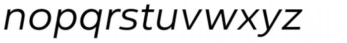 Yorkten Extended Book Italic Font LOWERCASE