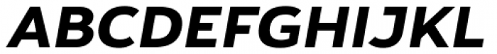 Yorkten Extended Extra Bold Italic Font UPPERCASE