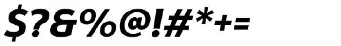Yorkten Extra Bold Italic Font OTHER CHARS