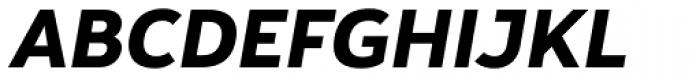 Yorkten Extra Bold Italic Font UPPERCASE