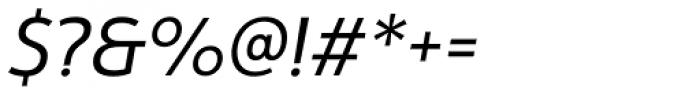 Yorkten Regular Italic Font OTHER CHARS