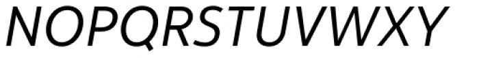 Yorkten Regular Italic Font UPPERCASE