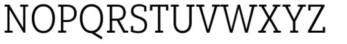 Yorkten Slab Condensed Light Font UPPERCASE