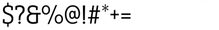 Yorkten Slab Condensed Regular Font OTHER CHARS