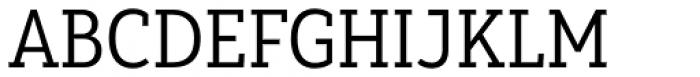 Yorkten Slab Condensed Regular Font UPPERCASE