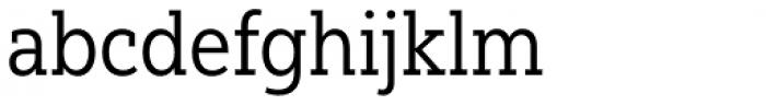 Yorkten Slab Condensed Regular Font LOWERCASE