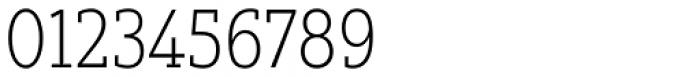Yorkten Slab Condensed Thin Font OTHER CHARS