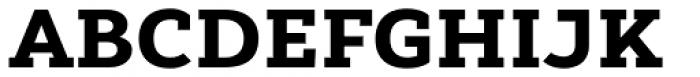 Yorkten Slab Extended Black Font UPPERCASE