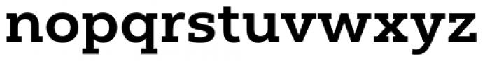 Yorkten Slab Extended Bold Font LOWERCASE