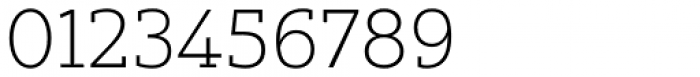 Yorkten Slab Extended Thin Font OTHER CHARS