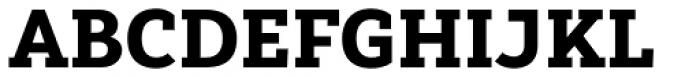 Yorkten Slab Normal Black Font UPPERCASE