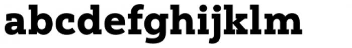 Yorkten Slab Normal Black Font LOWERCASE