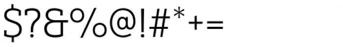 Yorkten Slab Normal Light Font OTHER CHARS