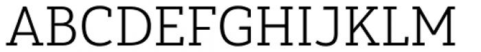 Yorkten Slab Normal Light Font UPPERCASE