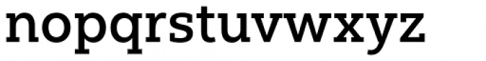 Yorkten Slab Normal Medium Font LOWERCASE