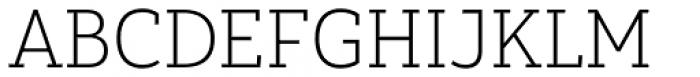 Yorkten Slab Normal Thin Font UPPERCASE