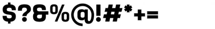 Yoshida Sans Bold Font OTHER CHARS