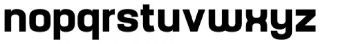 Yoshida Sans Bold Font LOWERCASE