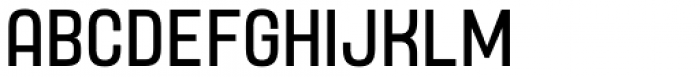 Yoshida Sans Condensed Font UPPERCASE