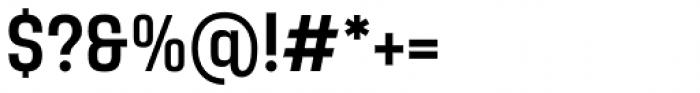 Yoshida Sans Medium Condensed Font OTHER CHARS