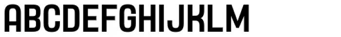Yoshida Sans Medium Condensed Font UPPERCASE