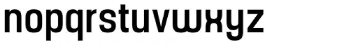 Yoshida Sans Medium Condensed Font LOWERCASE