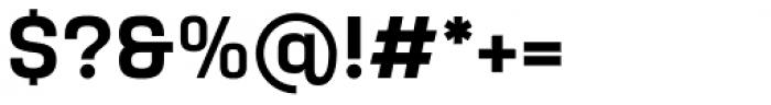 Yoshida Sans Semi Bold Font OTHER CHARS
