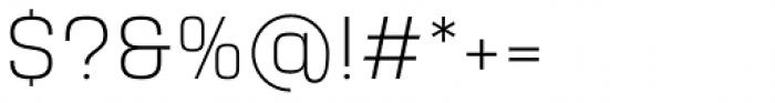 Yoshida Sans Ultra Light Font OTHER CHARS