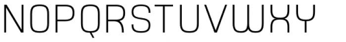 Yoshida Sans Ultra Light Font UPPERCASE