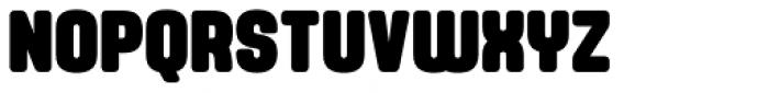 Yoshida Soft Black Condensed Font UPPERCASE