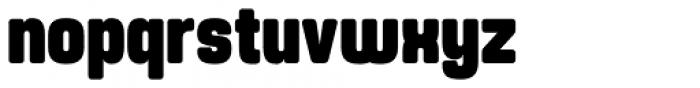 Yoshida Soft Black Condensed Font LOWERCASE