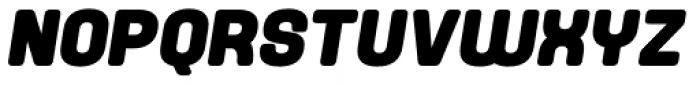 Yoshida Soft Black Italic Font UPPERCASE