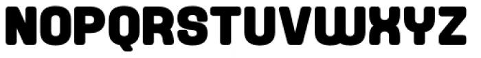Yoshida Soft Black Font UPPERCASE