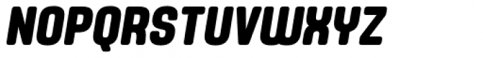 Yoshida Soft Bold Condensed Italic Font UPPERCASE