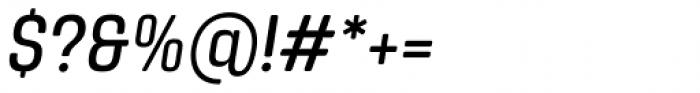 Yoshida Soft Condensed Italic Font OTHER CHARS