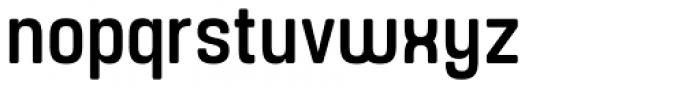 Yoshida Soft Medium Condensed Font LOWERCASE