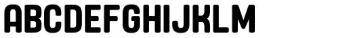 Yoshida Soft Semi Bold Condensed Font UPPERCASE