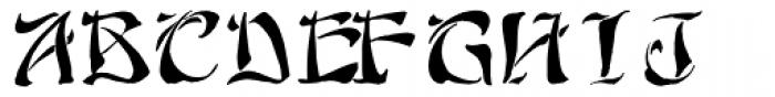 Yoshitoshi Font UPPERCASE