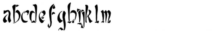 Yoshitoshi Font LOWERCASE