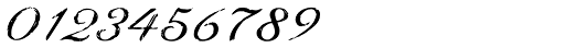 Youngblood Antique Brush Font OTHER CHARS
