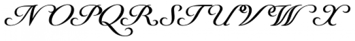 Youngblood Font UPPERCASE