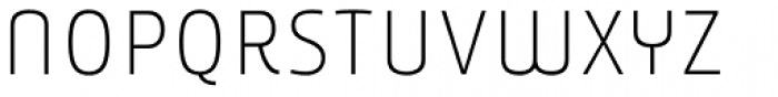 Younion FY Thin THREE Font LOWERCASE