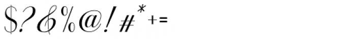 Youra Script Regular Font OTHER CHARS
