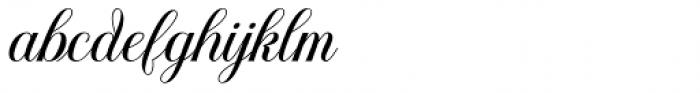 Youra Script Regular Font LOWERCASE